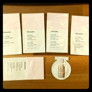 Lot of samples 5 glossier moisturizer 1 futuredew
